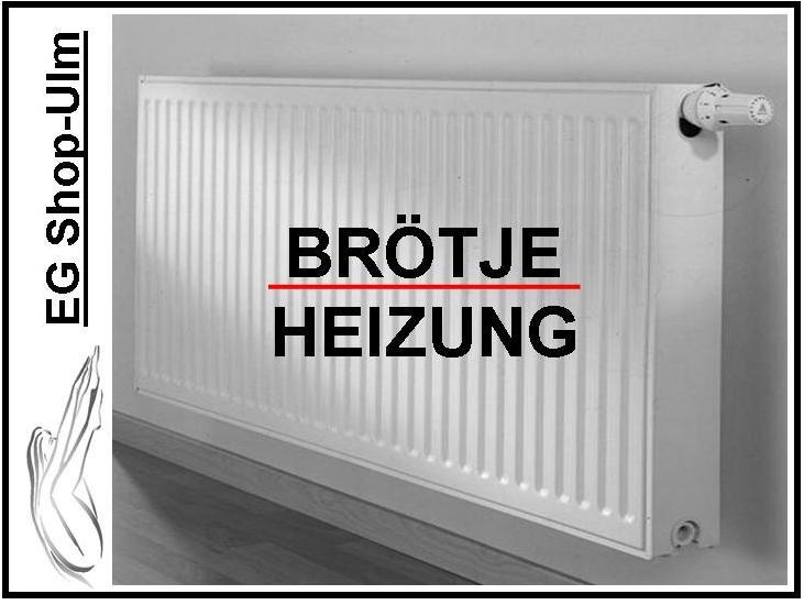 br tje europrofil kompakt heizk rper typ 22 600x800mm. Black Bedroom Furniture Sets. Home Design Ideas