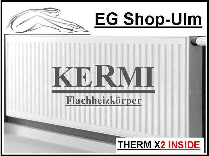 kermi profil kompakt heizk rper therm x2 bh 600 mm flachheizk rper. Black Bedroom Furniture Sets. Home Design Ideas