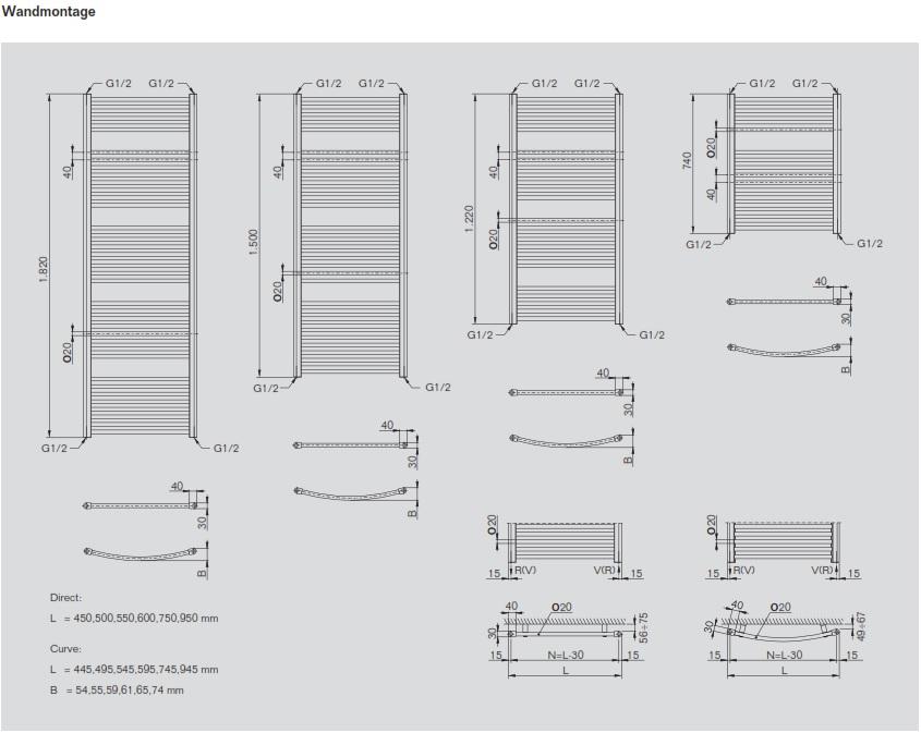 cosmo bad designheizk rper standard klimaanlage und heizung zu hause. Black Bedroom Furniture Sets. Home Design Ideas