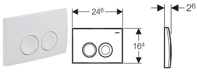 geberit duofix basic up100 458103001 delta21 schallschutz vorwandelement set ebay. Black Bedroom Furniture Sets. Home Design Ideas